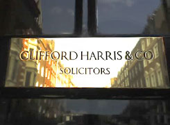 Clifford Harris & Co Sign